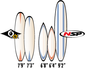 surfboard lengtes good people surf