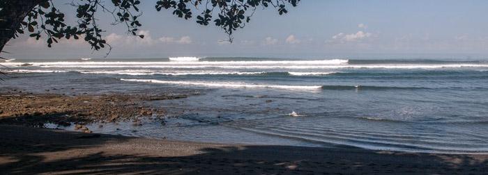 Surfen voor de deur