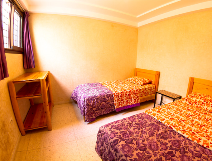 taghazout appartement slaapkamer