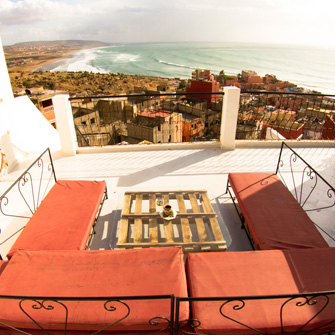 taghazout appartement balkon