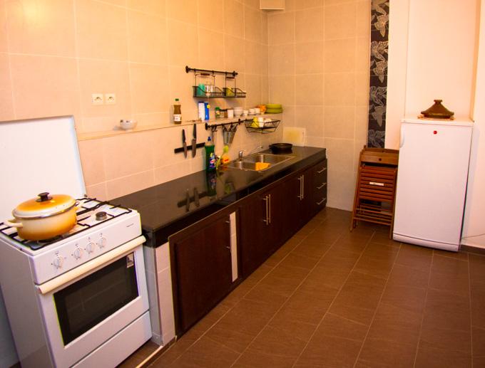 taghazout appartement keuken