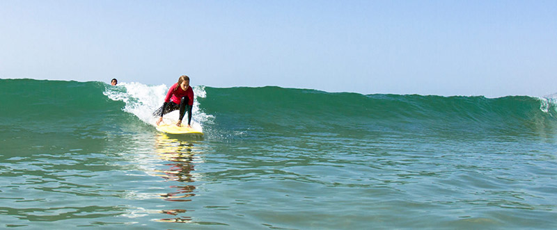 Mellow surf voor beginners
