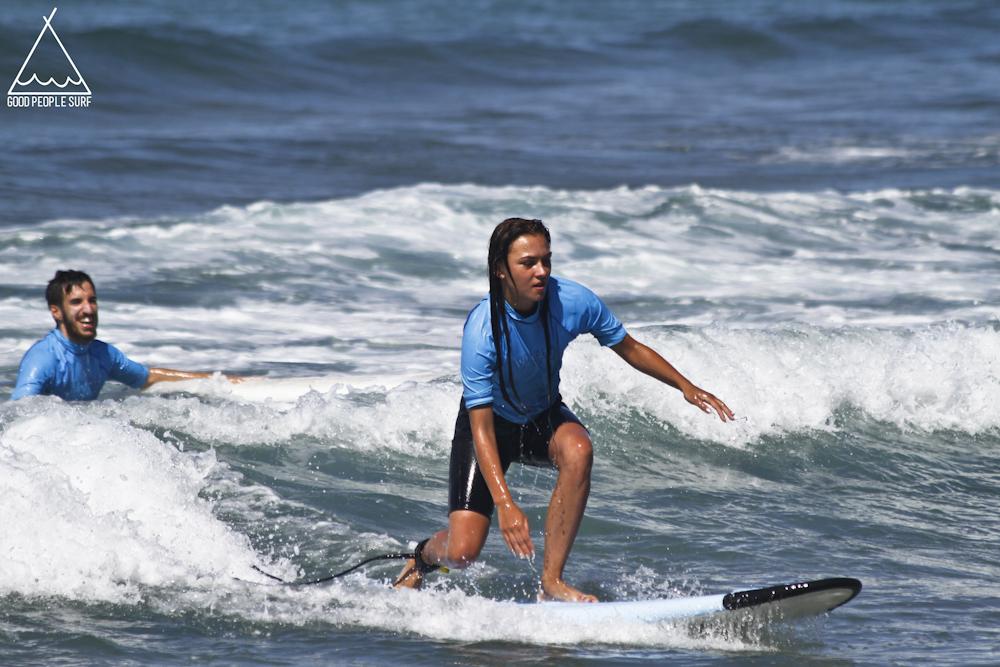 surfcamp zarautz surfles beginner