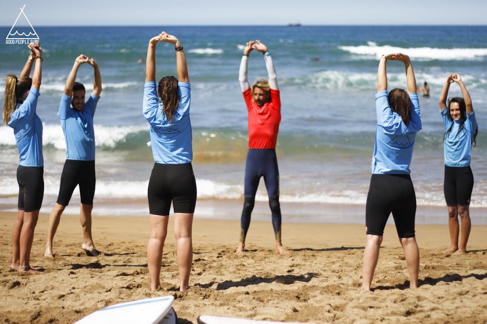 stretch surfles zarautz